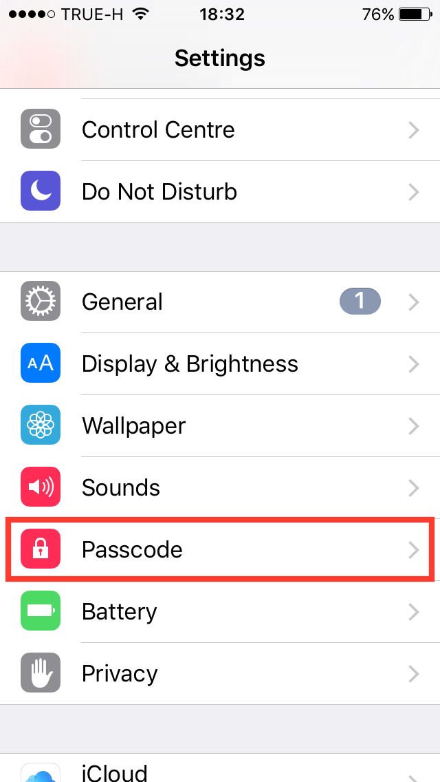 How to remove password c iPhone or iPad